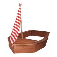 Sandkasten Piratenschiff